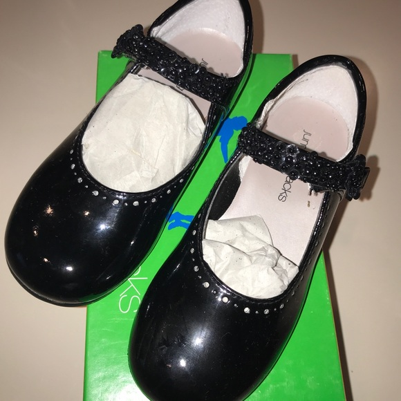 Girl Black Patent Mary Janes Size